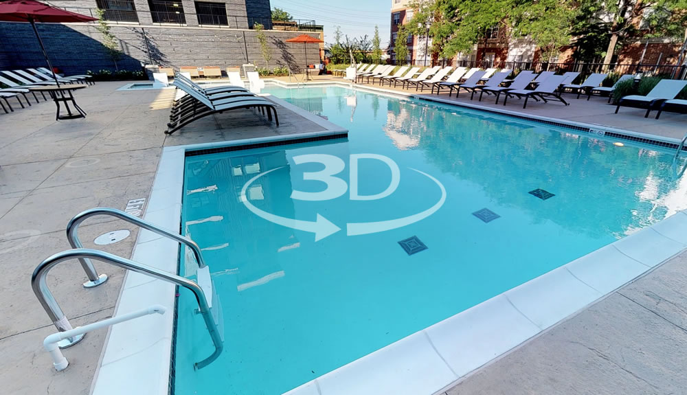 Explore Avalon at Edgewater Pool in 3D