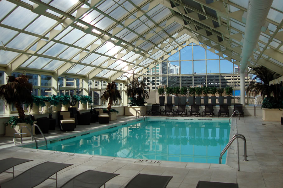 Bella Hotel Atlantic City, New Jersey Commercial Pool Design by Omega Pool Structures, Inc