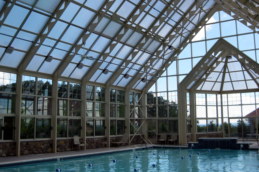 Four Seasons Jackson Jackson, New Jersey Indoor Pool Commercial Pool Design by Omega Pool Structures, Inc