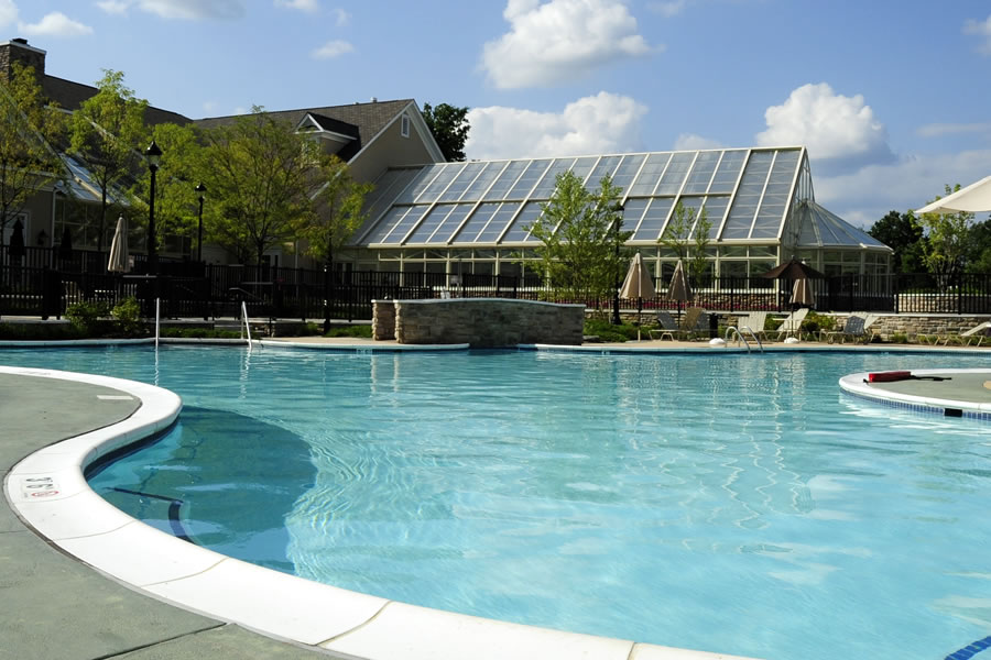 Four Seasons Jackson Jackson, New Jersey Outdoor Pool Commercial Pool Design by Omega Pool Structures, Inc
