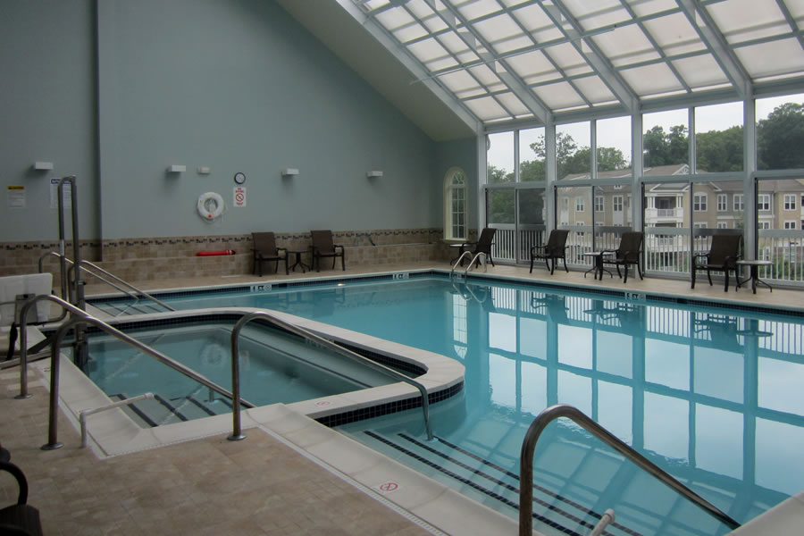 Fox Ridge Wharton, New Jersey Commercial Pool Design by Omega Pool Structures, Inc