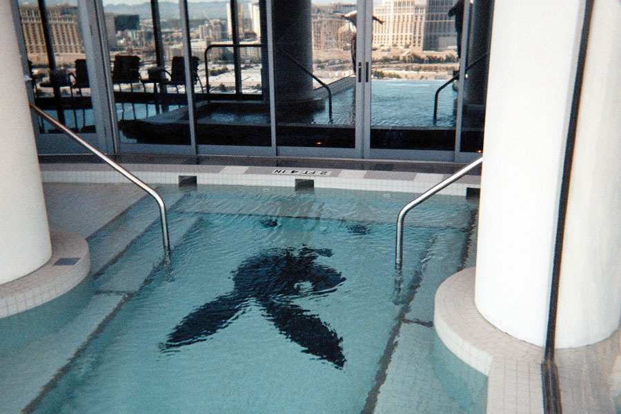 Palms Hotel Atlantic City, New Jersey Commercial Pool Design by Omega Pool Structures, Inc