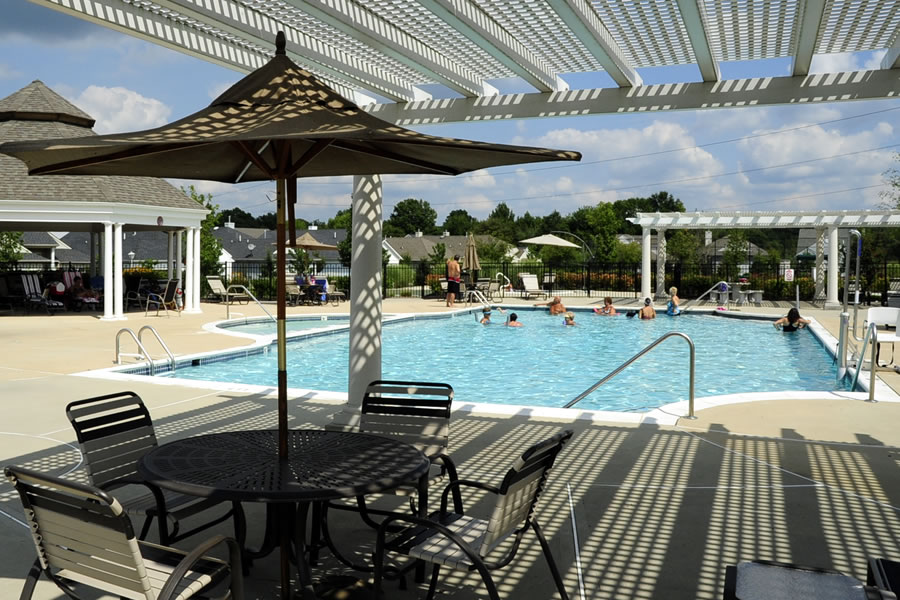 The Renaissance at Monroe Monroe, New Jersey Commercial Pool Design by Omega Pool Structures, Inc