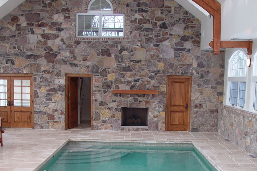 Indoor Pool Chester, New Jersey Residential Pool Design by Omega Pool Structures, Inc