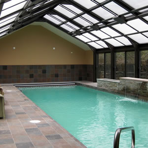 Residential pools portfolio of omega pool structures inc for Pool design engineering
