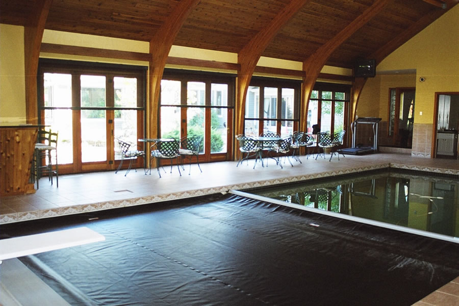 residential indoor pool indoor pool princeton new jersey residential pool design by omega pool structures inc 6370